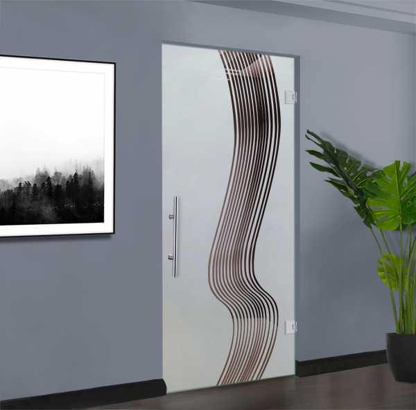 Pivot Glass Door SD-0157
