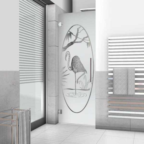 Pivot Shower Door ASD-0002