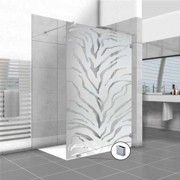 Frameless Fixed Shower Glass Panel FSS-0018