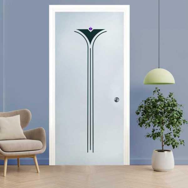Pocket Glass Barn Door (Model PSGD-0124 Semi-Private)