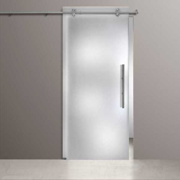 Single Sliding Barn Glass Door SGD-V2000-0123