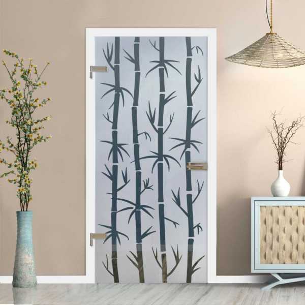 Hinged Glass Door (Model HGD-H+H-0080 Non-Private)
