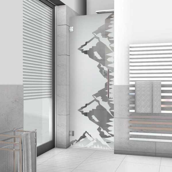 Pivot Shower Door ASD-0020