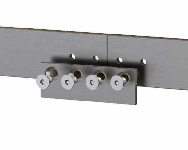 ONE TIME LISTING: Stainless steel rail connector