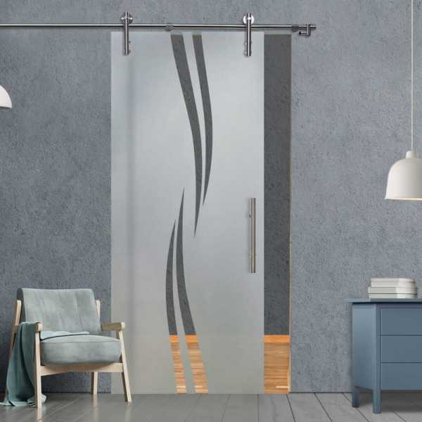 Sliding Glass Barn Door SGD-V1000-0135