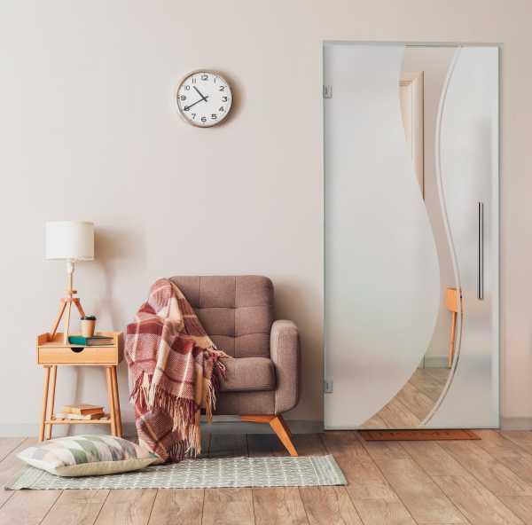 Swing Glass Door (Model SD-0096 Semi-Private)