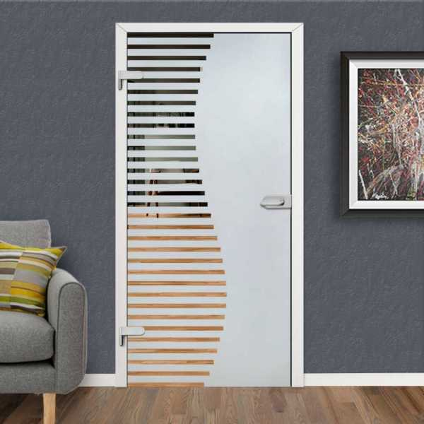 Hinged Glass Door HGD-H+H-0105 (Semi-private)