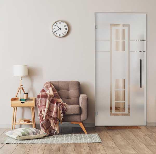 Swing Glass Door (Model SD-0044 Semi-Private)