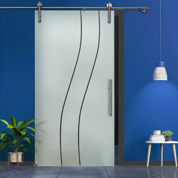 Sliding Glass Barn Door SGD-V1000-0102