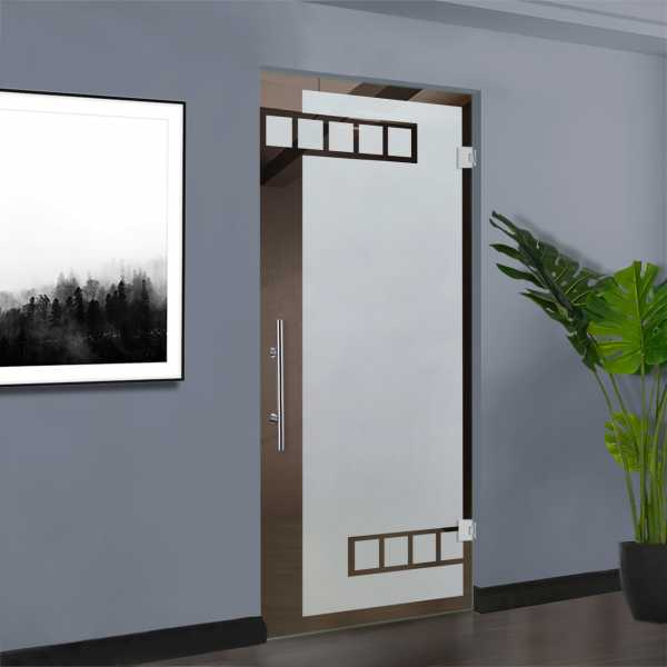Pivot Glass Door (Model SD-0022 Semi-Private)