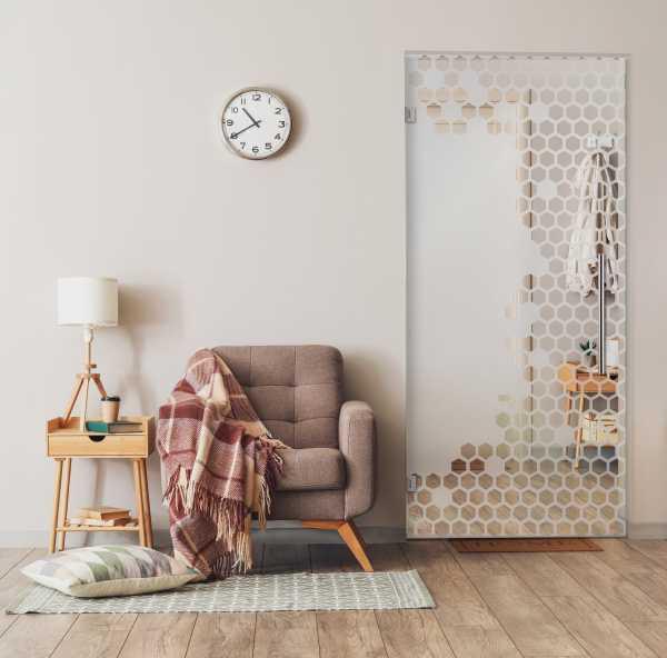 Swing Glass Door (Model SD-0172 Semi-Private)