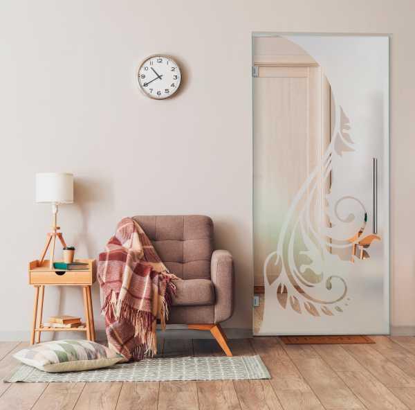 Swing Glass Door (Model SD-0159 Semi-Private)