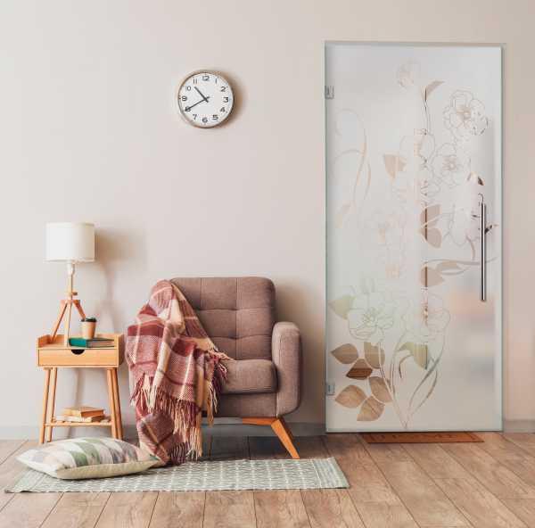 Swing Glass Door (Model SD-0165 Semi-Private)