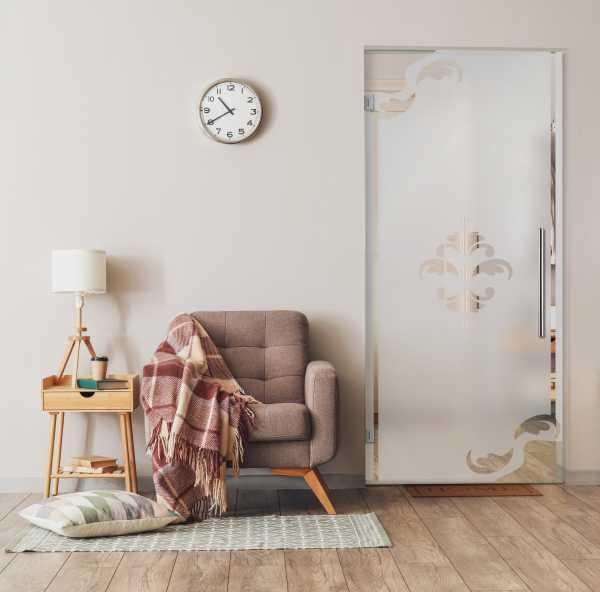 Swing Glass Door (Model SD-0066 Semi-Private)
