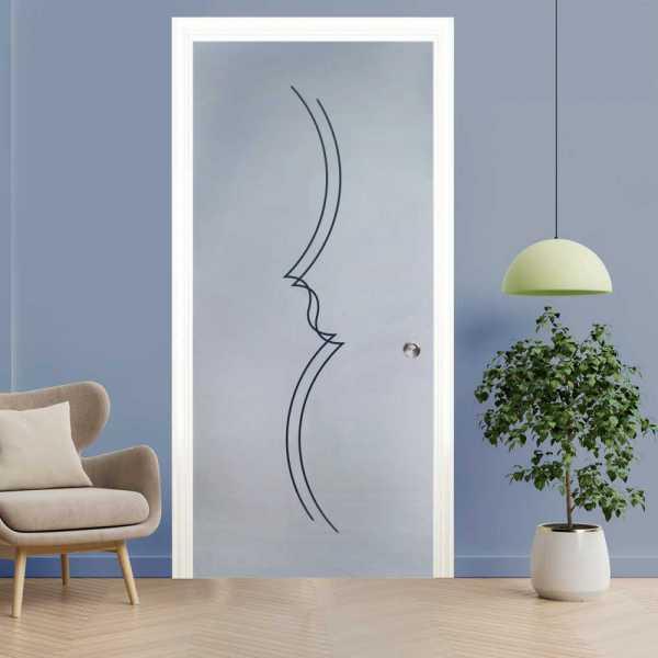 Pocket Glass Barn Door (Model PSGD-0007 Semi-Private)