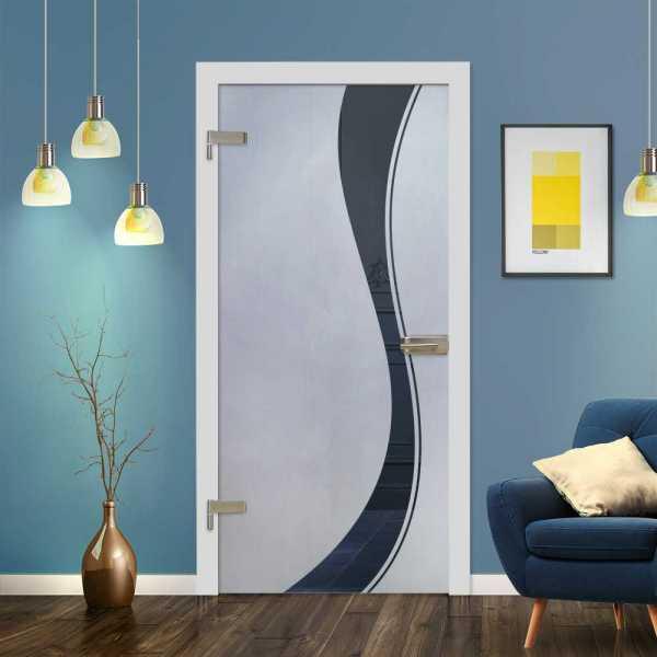 Hinged Glass Door (Model HGD-H+H-0006 Semi-Private)