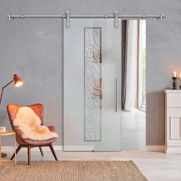 Sliding Glass Barn Door SGD-V1000-0163