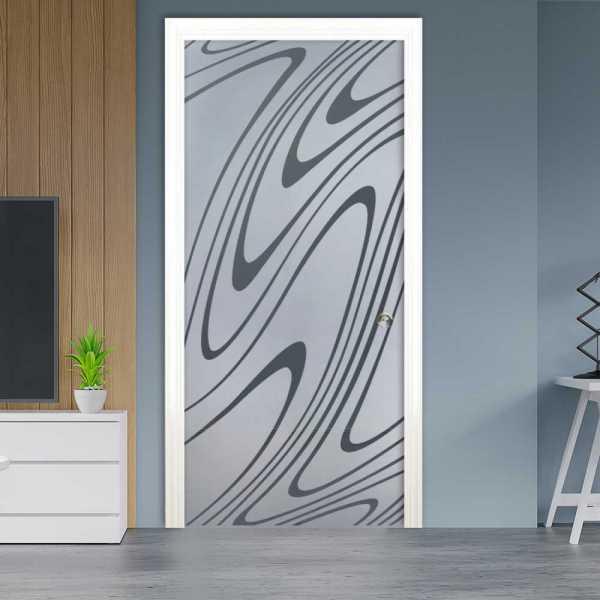 Pocket Glass Barn Door (Model PSGD-0200 Semi-Private)