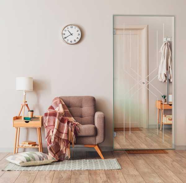 Pivot Glass Door SD-0102