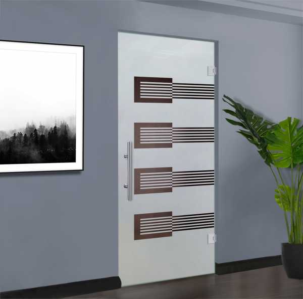 Swing Glass Door (Model SD-0146 Semi-Private)