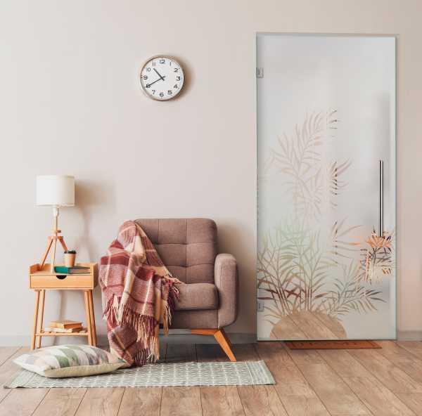 Swing Glass Door (Model SD-0164 Semi-Private)
