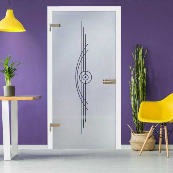 Hinged Glass Door HGD-H+H-0074
