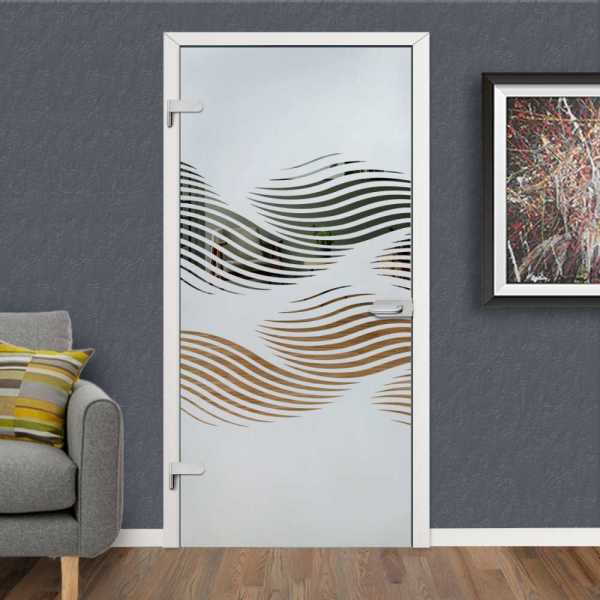 Hinged Glass Door HGD-H+H-0038 (Semi-private)