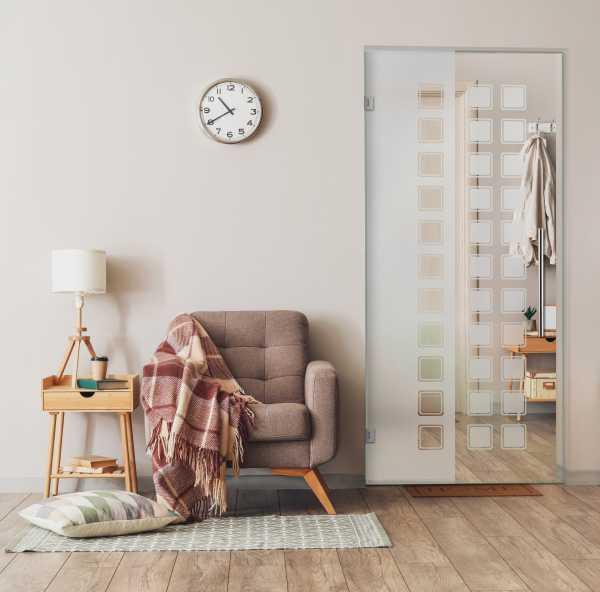 Swing Glass Door (Model SD-0153 Semi-Private)
