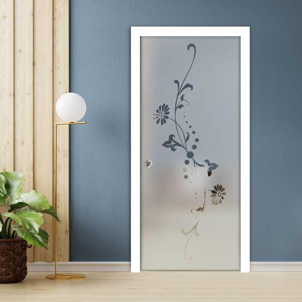Pocket Glass Barn Door (Model PSGD-0065 Semi-Private)