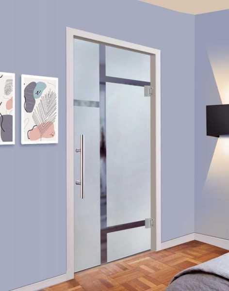"""33 7/8"""" x 79 3/4"""" Swing Glass Door SD-0012 Semi-Private"""