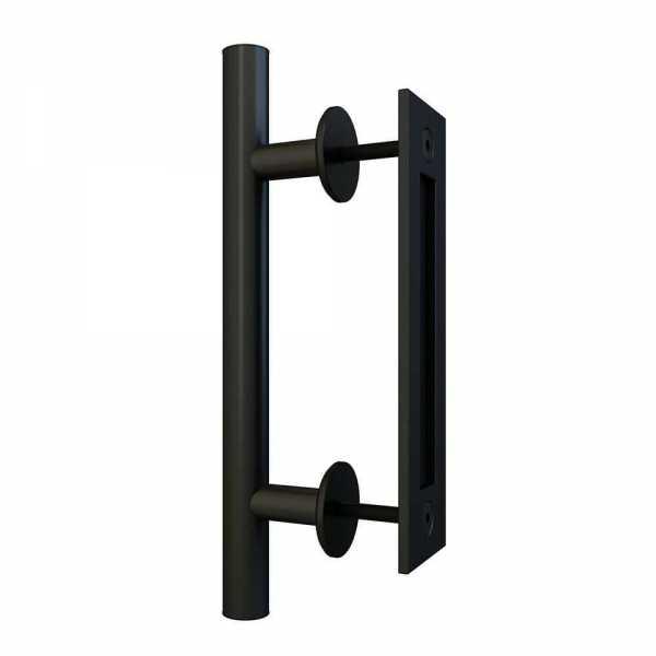 """12"""" Inch Carbon Steel Handle for Wood Doors"""