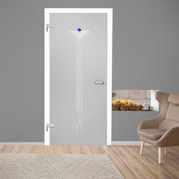 Hinged Glass Door (Model HGD-H+H-0049 Full-Private)