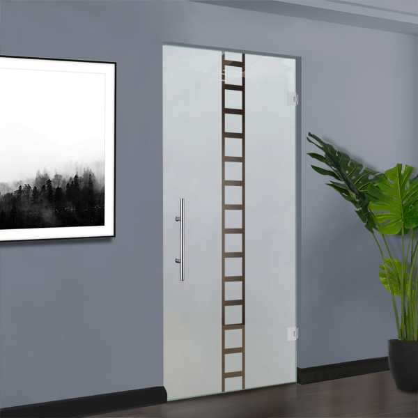 Pivot Glass Door (Model SD-0025 Semi-Private)