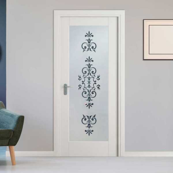 Pantry Room MDF Hinged Doors with Glass Insert CHMDI-00007 (Semi-Private)