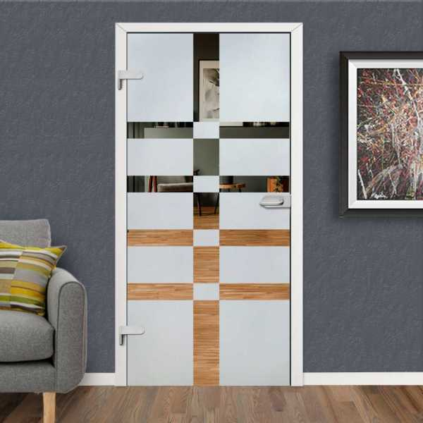 Hinged Glass Door HGD-H+H-0104 (Semi-private)