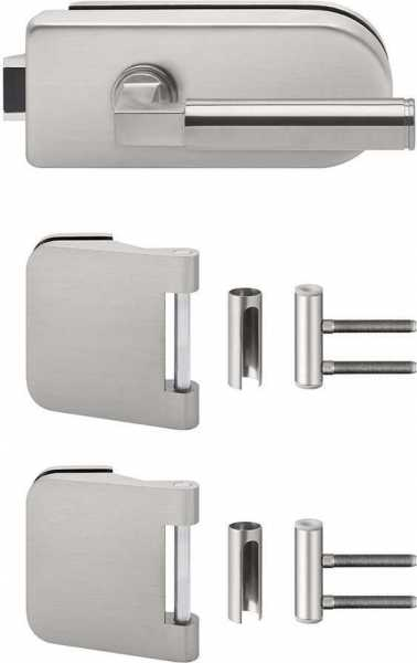Glass Door fitting set Unlockable