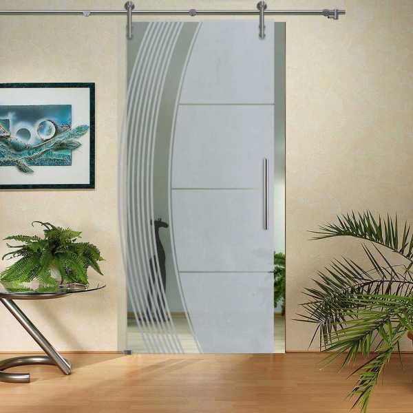 Sliding Glass Barn Door SGD-V1000-0130