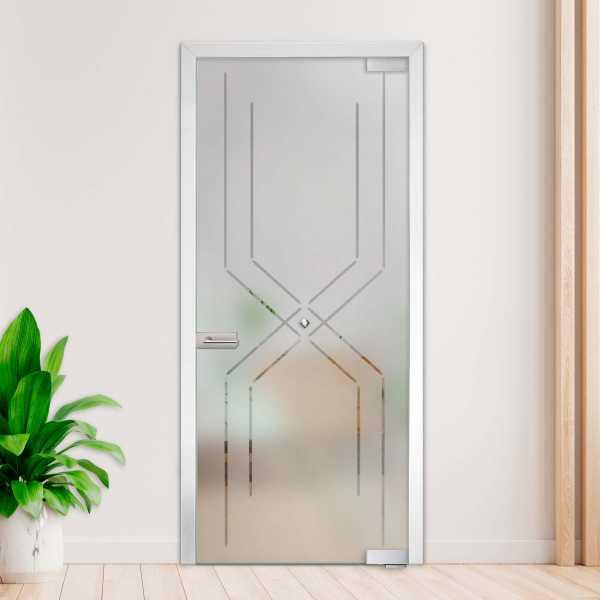 Swing Glass Door (ModelSD-01001 Semi-Private)
