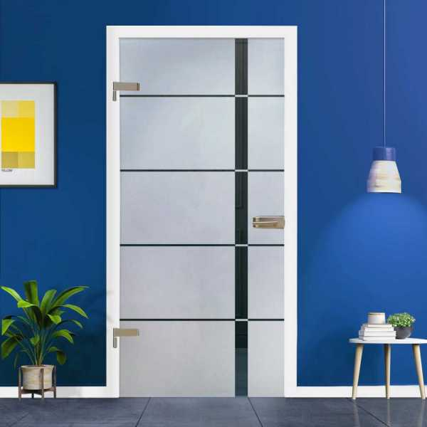 Hinged Glass Door HGD-H+H-0047