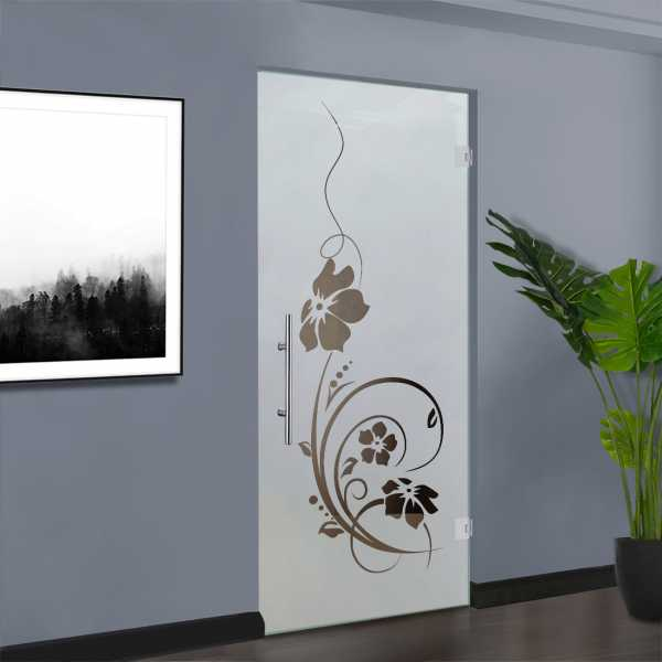Swing Glass Door (Model SD-0067 Semi-Private)