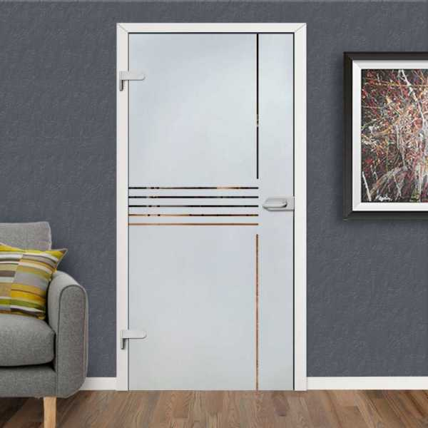 Hinged Glass Door HGD-H+H-0095 (Semi-private)