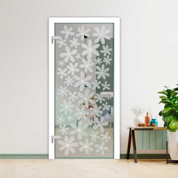 Hinged Glass Door (Model HGD-H+H-0056 Semi-Private)