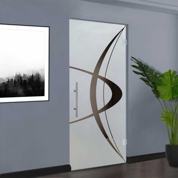 Swing Glass Door (Model SD-0135 Semi-Private)