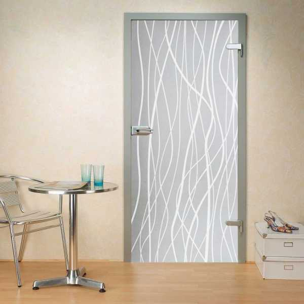 "Hinged Glass Door, 38"" x 80"", full private, opening direction: right, glass thickness: 10mm"