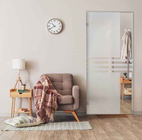 Swing Glass Door (Model SD-0026 Semi-Private)