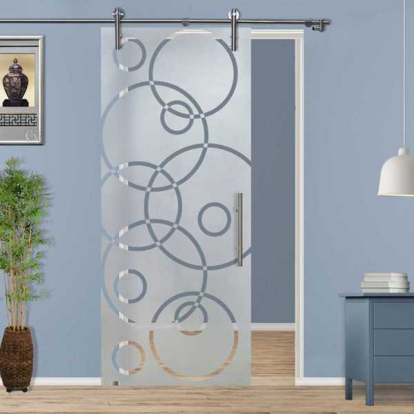 Sliding Glass Barn Door SGD-V1000-0120
