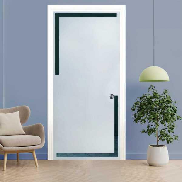 Pocket Glass Barn Door (Model PSGD-0104 Semi-Private)