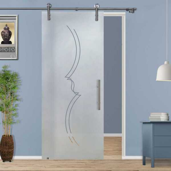 Sliding Glass Barn Door SGD-V1000-0121
