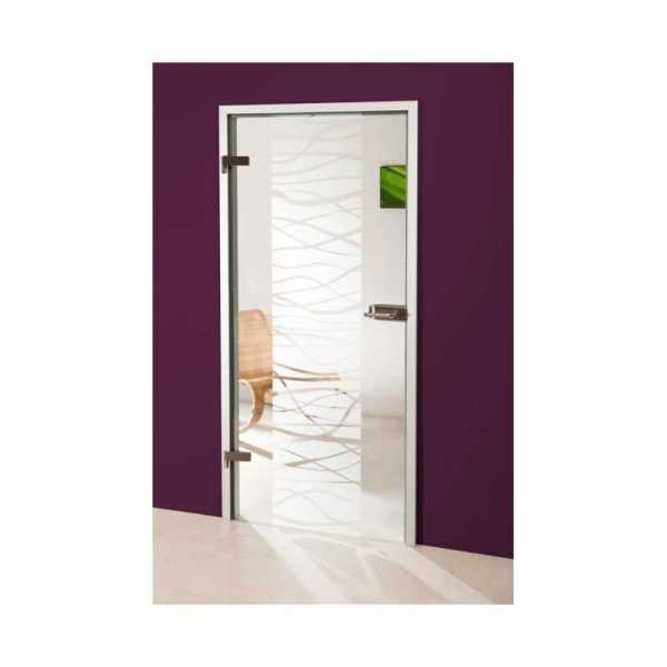 Hinged Glass Door (Model HGD-H+H-0058 Semi-Private)
