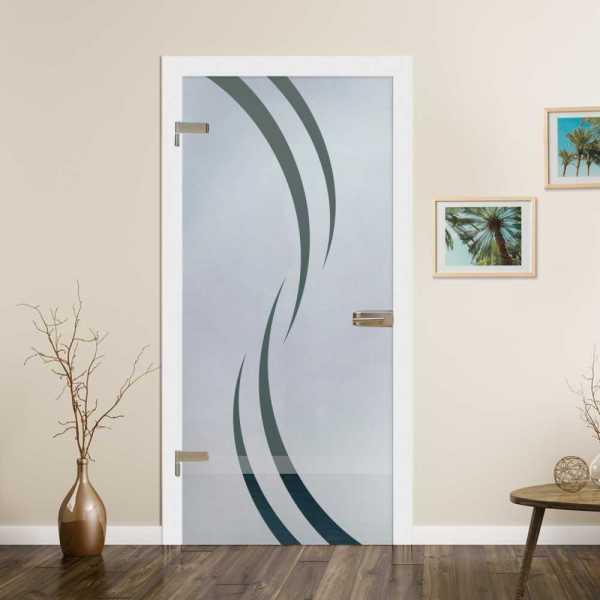Hinged Glass Door HGD-H+H-0087